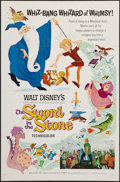"Movie Posters:Animation, The Sword in the Stone (Buena Vista, 1963). One Sheet (27"" X 41"") Style A. Animation.. ..."