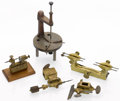 Timepieces:Other , Five Antique Watchmaking Tools. ... (Total: 5 Items)