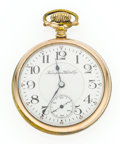 Timepieces:Pocket (post 1900), Hampden 21 Jewel 16 Size Open Face Pocket Watch. ...