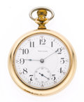 Timepieces:Pocket (post 1900), Waltham 23 Jewel 18 Size Pocket Watch. ...