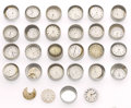 Timepieces:Other , A Lot Of Twenty Five Partial Movements For Parts. ... (Total: 25 Items)