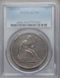 Seated Dollars, 1860-O $1 AU50 PCGS....