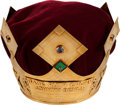 "Baseball Collectibles:Others, 1990's Johnny Bench ""Babe Ruth Crown"" Award...."