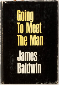 James Baldwin. Going to Meet the Man. New York: Dial Press, 1965. First edition, in first issue