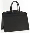 Luxury Accessories:Bags, Louis Vuitton Black Epi Leather Riviera Tote Bag. ...