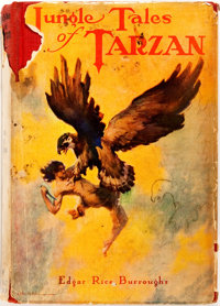 Edgar Rice Burroughs. Jungle Tales of Tarzan. New York: Grosset & Dunlap, [1919]. Reprint. Publ