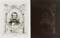 Books:Americana & American History, [American Heritage Archives - Lincoln]. Photo Reproduction andNegative of Songsheet Cover of President Lincoln's Funera...