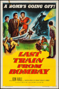 "Movie Posters:Adventure, Last Train from Bombay & Other Lot (Columbia, 1952). One Sheets(2) (27"" X 41""). Adventure.. ... (Total: 2 Items)"