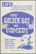 """Movie Posters:Documentary, The Golden Age of Comedy & Other Lot (20th Century Fox, 1958). One Sheet (27"""" X 41"""", & 27.5"""" X 39""""). Documentary.. ... (Total: 2 Items)"""