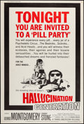 "Movie Posters:Exploitation, Hallucination Generation (Trans American, 1967). Poster (40"" X60""). Exploitation.. ..."