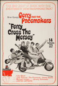 "Movie Posters:Rock and Roll, Ferry Cross the Mersey (United Artists, 1965). Poster (40"" X 60"").Rock and Roll.. ..."