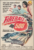 "Movie Posters:Action, Fireball 500 (American International, 1966). Poster (40"" X 60""). Action.. ..."