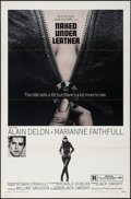 """Movie Posters:Exploitation, The Girl on a Motorcycle (Warner Brothers, 1968). One Sheet (27"""" X41""""). Exploitation. Alternative Title: Naked Under Leat..."""