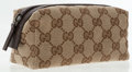 Luxury Accessories:Accessories, Gucci Classic Monogram Canvas Cosmetic Case. ...