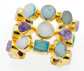 Estate Jewelry:Bracelets, Multi-Stone, Bronze Bracelet, Stephen Dweck. ...