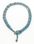 Estate Jewelry:Necklaces, Enamel, Silver Serpent Necklace, Margot De Taxco. ...