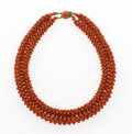 Estate Jewelry:Necklaces, Coral Necklace. ...