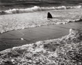 Photographs:20th Century, MORLEY BAER (American, b. 1916). Double Surf, GarrapataBeach, 1966. Gelatin silver, printed later. 7-3/8 x 9-1/4inches...