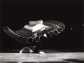 Photographs:20th Century, DR. HAROLD EUGENE EDGERTON (American, 1903-1990).Tennis-Forehand Drive, Jenny Tuckey, 1938. Gelatin silver,1986. 9-1/2...