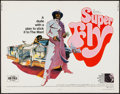 "Movie Posters:Blaxploitation, Super Fly (Warner Brothers, 1972). Half Sheet (22"" X 28"").Blaxploitation.. ..."