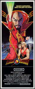 """Movie Posters:Science Fiction, Flash Gordon (Universal, 1980). Insert (14"""" X 36""""). ScienceFiction.. ..."""