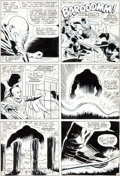Original Comic Art:Panel Pages, Jack Kirby, Alex Toth, and Vince Colletta X-Men #12 FirstJuggernaut Appearance Page 13 Original Art (Marvel, 1965...