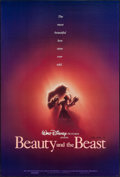 "Movie Posters:Animation, Beauty and the Beast (Buena Vista, 1991). John Alvin Signed OneSheet (27"" X 40"") SS Advance. Animation.. ..."
