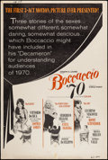 "Movie Posters:Foreign, Boccaccio '70 (Embassy, 1962). Poster (40"" X 60""). Foreign.. ..."