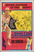 "Movie Posters:War, The Steel Lady and Other Lot (United Artists, 1953). One Sheet (27""X 41""). War.. ... (Total: 2 Items)"