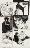 Original Comic Art:Panel Pages, Mike Dringenberg and Malcolm Jones III Sandman #14 Page 30Original Art (DC, 1990)....