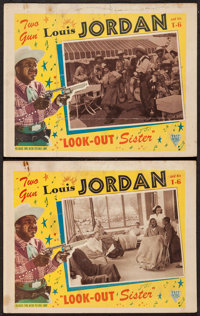 """Look-Out Sister (Astor, 1947). Lobby Cards (2) (11"""" X 14""""). Musical. ... (Total: 2 Items)"""