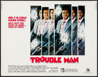 "Trouble Man (20th Century Fox, 1972). Half Sheet (22"" X 28""). Blaxploitation"