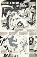 "Original Comic Art:Panel Pages, Garry Leach Warrior Magazine #1 Marvelman aka Miracleman ""ADream of Flying"" Title Page 2 Original Art (Quality, 1..."