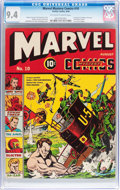 Golden Age (1938-1955):Superhero, Marvel Mystery Comics #10 (Timely, 1940) CGC NM 9.4 Off-white to white pages....