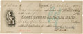 Autographs:Checks, 1909 Joe McGinnity Signed Promissory Note....