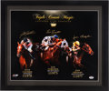 Miscellaneous Collectibles:General, Triple Crown Magic Multi Signed Oversized Print. ...
