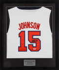 Basketball Collectibles:Uniforms, Magic Johnson Signed Jersey. ...