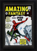 "Miscellaneous Collectibles:General, Stan Lee Signed ""Spiderman"" Oversized Print...."