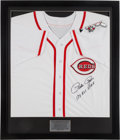 "Baseball Collectibles:Uniforms, Pete Rose ""17x All Star"" Signed Cincinnati Reds Jersey. ..."