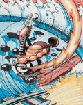 "Original Comic Art:Miscellaneous, Rick Griffin ""Electric Surfer"" Preliminary Artwork Original Art(undated)...."