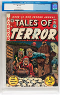Golden Age (1938-1955):Horror, Tales of Terror Annual #2 (EC, 1952) CGC VF- 7.5 Off-whitepages....