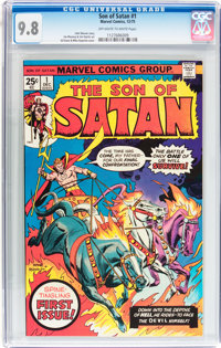 Son of Satan #1 (Marvel, 1975) CGC NM/MT 9.8 Off-white to white pages