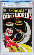 Silver Age (1956-1969):Science Fiction, Showcase #17 Adventures on Other Worlds (DC, 1958) CGC VG/FN 5.0Cream to off-white pages....