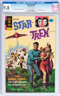 Star Trek #32 (Gold Key, 1975) CGC NM/MT 9.8 Off-white to white pages