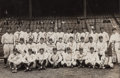 Autographs:Others, 1927 New York Yankees Team Signed Photograph. ...