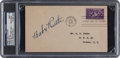 Autographs:Others, 1939 Babe Ruth Signed Baseball Hall of Fame Grand Opening First DayCover, PSA/DNA Mint 9....