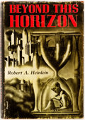 Books:Science Fiction & Fantasy, Robert Heinlein. Beyond This Horizon. Reading: Fantasy Press, 1948. First edition. Publisher's cloth and dust jacket...