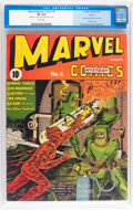 Golden Age (1938-1955):Superhero, Marvel Mystery Comics #5 Larson pedigree (Timely, 1940) CGC VF 8.0 White pages....