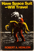 Books:Science Fiction & Fantasy, Robert Heinlein. Have Spacesuit Will Travel. London: Victor Gollancz, 1970. First British edition. Publisher's bindi...