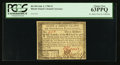 Colonial Notes:Rhode Island, Rhode Island July 2, 1780 $3 PCGS Choice New 63PPQ.. ...
